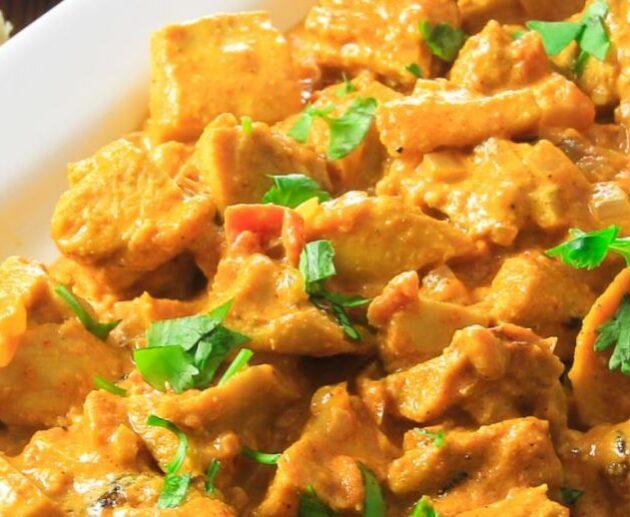 Indické butter chicken (máslové kuře)