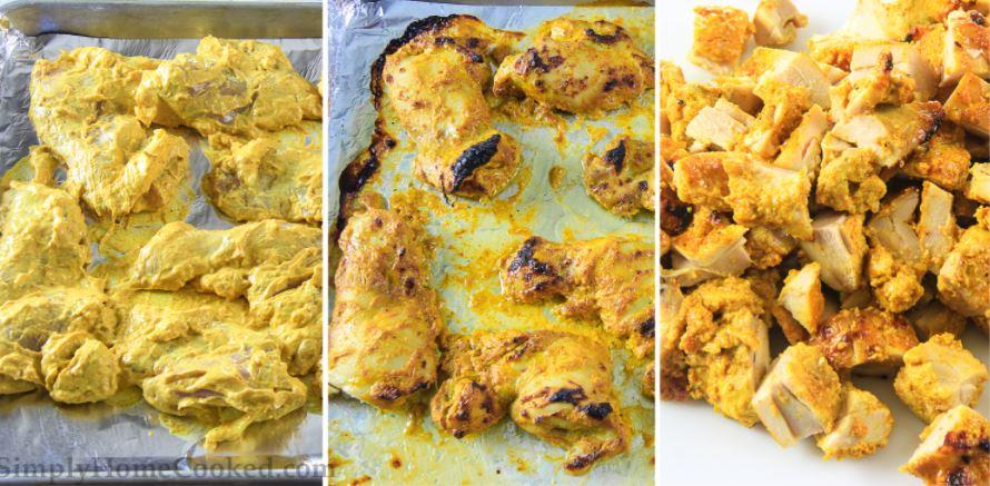 Butter chicken indická příprava recept