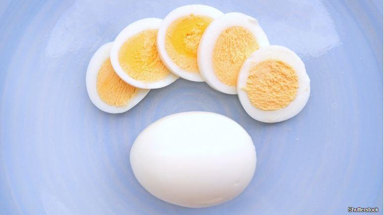 Vařené vejce vkládejte do studené vody