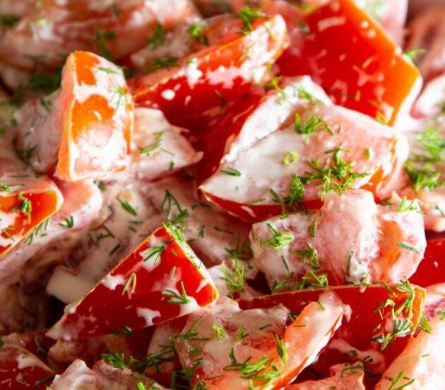 Skvělý rajčatový salát