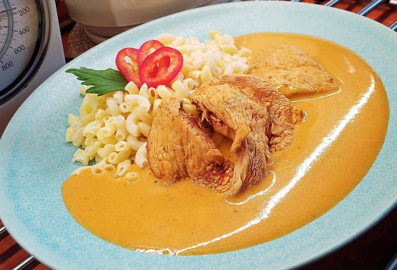 Luxusní kuře na paprice