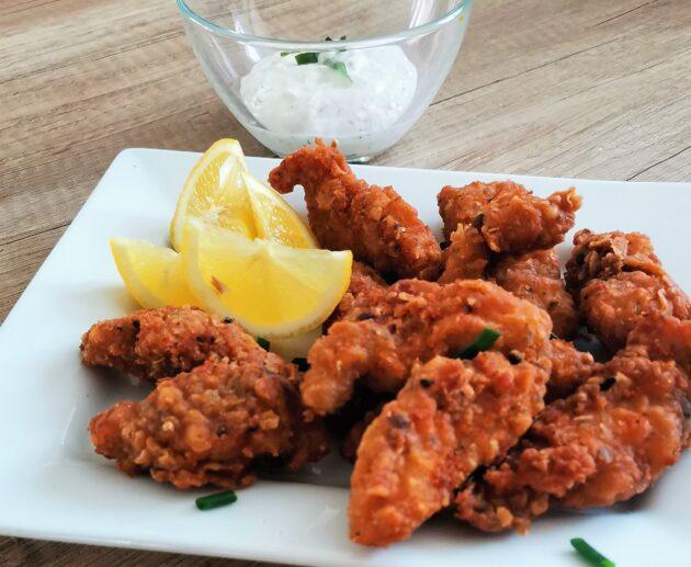 Pikantní kuřecí stripsy jako z KFC